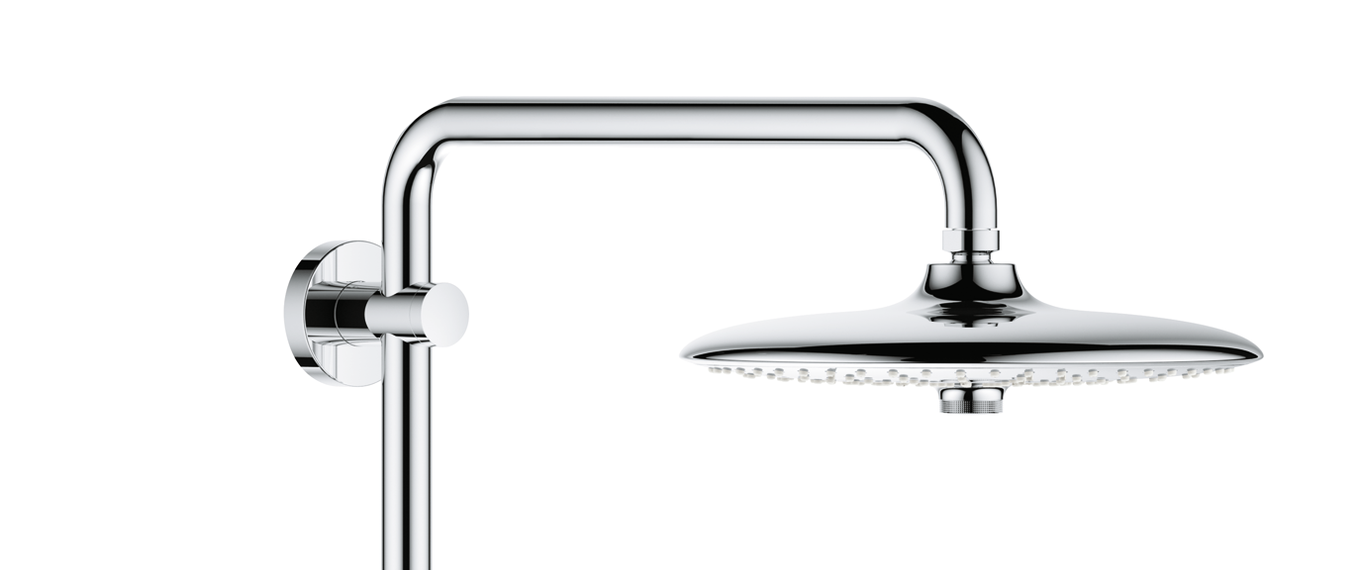 grohe euphoria smartcontrol shower system 260 mono with thermostatic mixer xtwostore. Black Bedroom Furniture Sets. Home Design Ideas