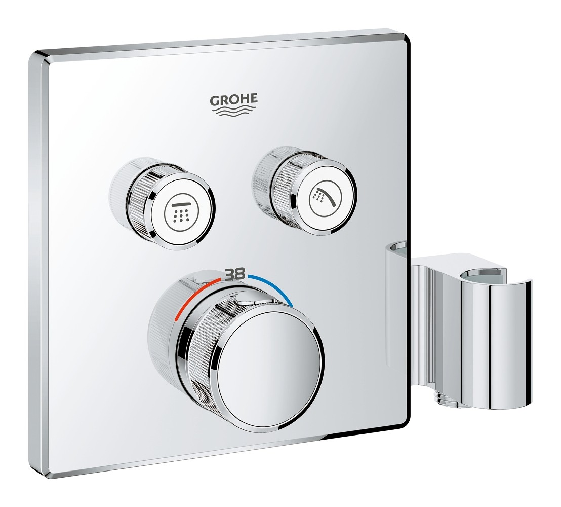 grohe grohtherm smartcontrol thermostat mit 2. Black Bedroom Furniture Sets. Home Design Ideas