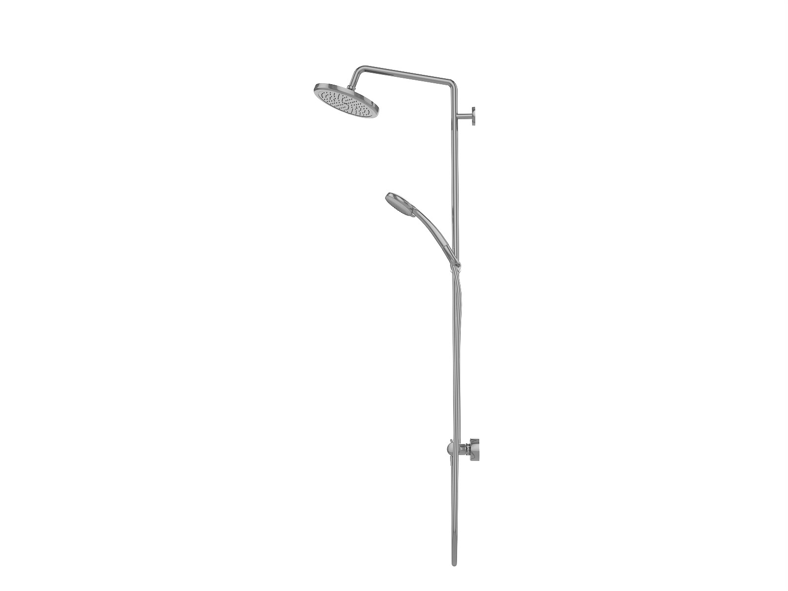 hansgrohe croma shower system showerpipe 220 air 1jet. Black Bedroom Furniture Sets. Home Design Ideas