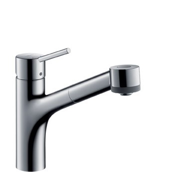 hansgrohe talis s single lever kitchen mixer dn 15 with pull out