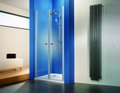 HSK - Swing door niche, 41 chrome-look 1000 x 1850 mm, 50 ESG clear bright