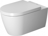Duravit ME by Starck - Wand-WC Compact 570 x 370 mm rimless weiß