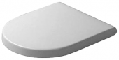 Duravit Starck 3 - Toilet Seat without soft-close white