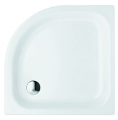 Bette BetteCorner ohne Schürze - Quarter-circle shower tray white - 90 x 90