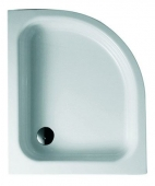Bette BetteCorner mit Schürze - Quarter-circle shower tray white - 900 x 800
