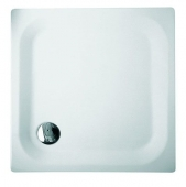 Bette BetteSuperflach 2,5 - white - 80 x 80