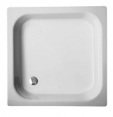 Bette BetteFlach 15 Serie - Series shower tray 50 white - 80 x 80