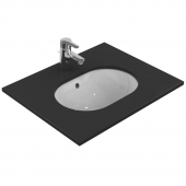 Ideal Standard Connect - Undercounter Washbasin 480x350 white with IdealPlus