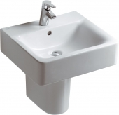 Ideal Standard Connect - Washbasin 500x460 white with IdealPlus