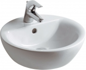 Ideal Standard Connect - Countertop Washbasin 430x430 white without Coating