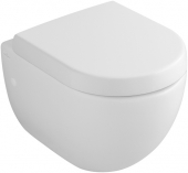Villeroy & Boch Subway - Compact washdown toilet 480 x 355 mm white with CeramicPlus