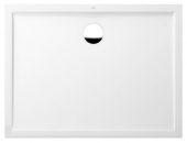 Villeroy & Boch Futurion Flat - Rectangular shower tray 1200 x 800 x 25 White Alpin
