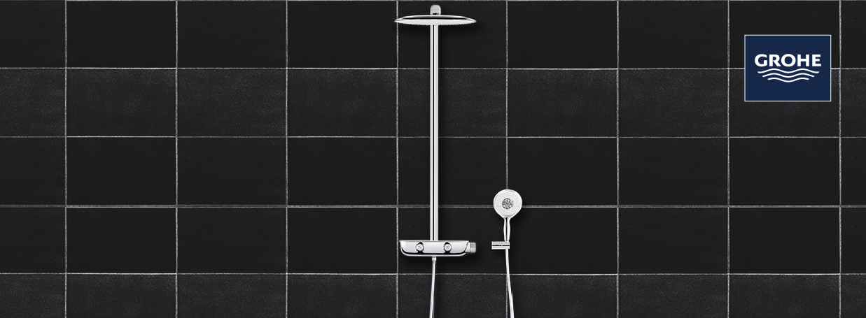 Shower Systems from GROHE at xTWO