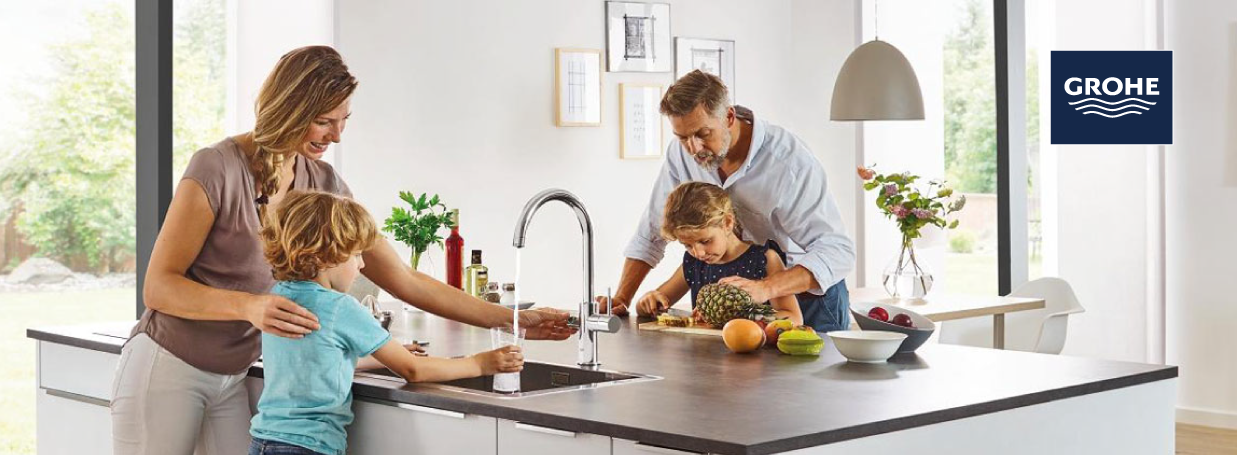 Kitchen Taps from GROHE at xTWO