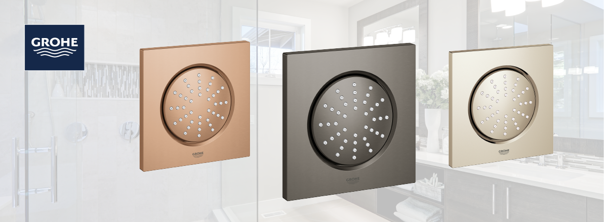 GROHE Side Showers at xTWO