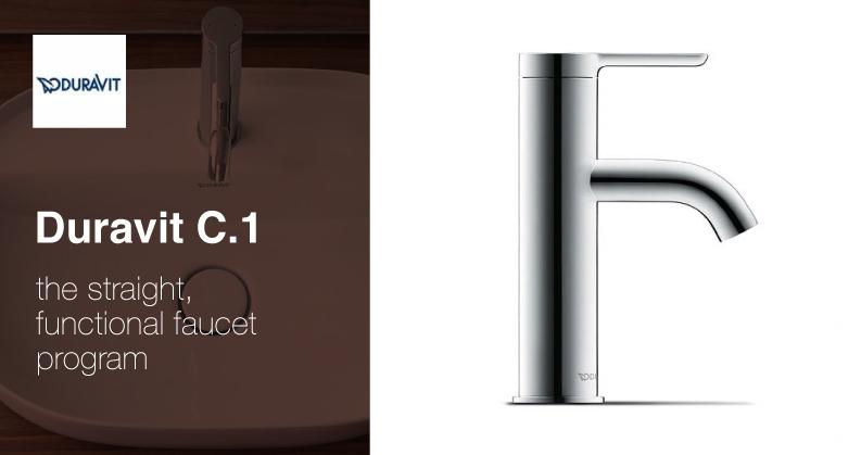 Duravit C.1 faucets