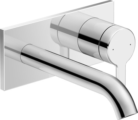 Duravit C.1 faucet wall-mounted