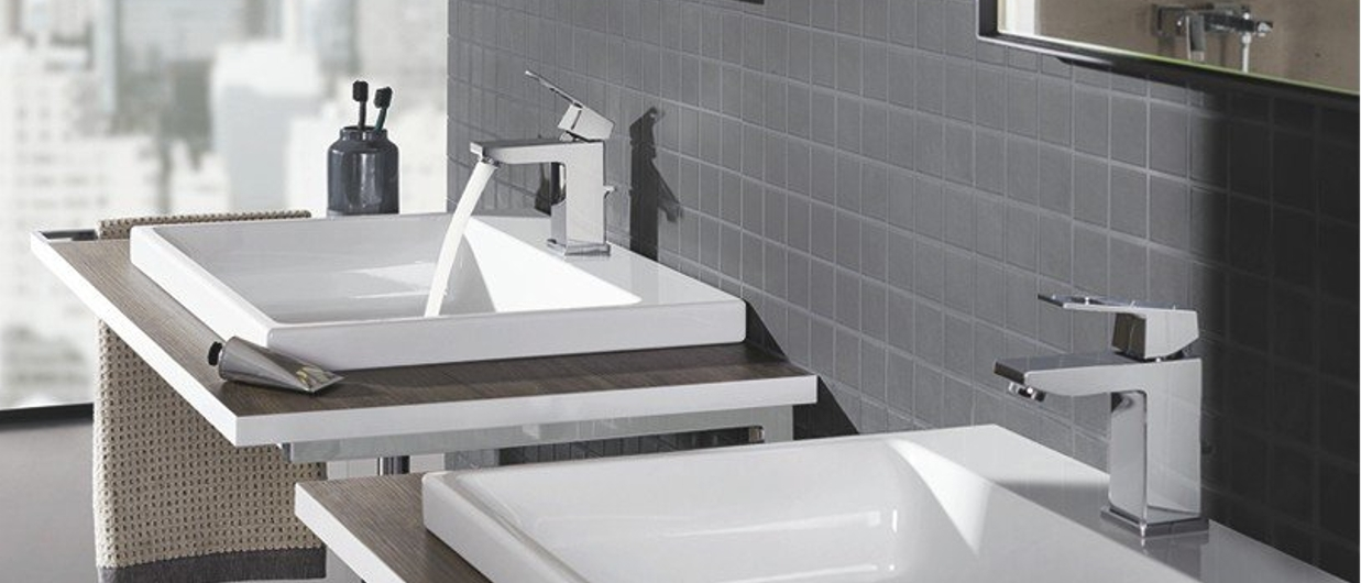 Grohe Eurocube Modern Bathroom Articles At Xtwo