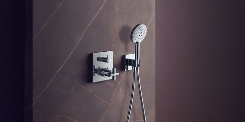 Axor Citterio Concealed Shower Mixer and hand shower at xTWOstore