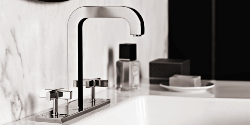 Axor Citterio washbasin faucet three hole
